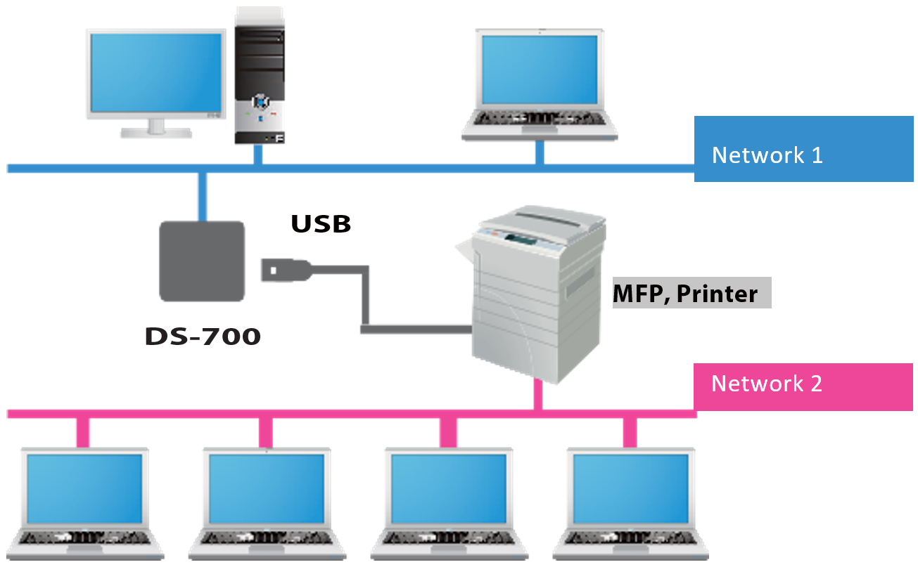 ds-700 additional network