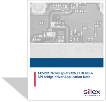 FTDI USB App Note for SX-NEWAH-EVK